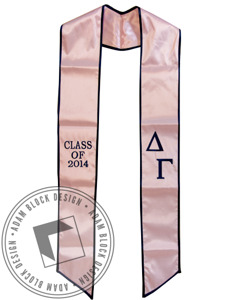 Delta Gamma Graduation Stole-Adam Block Design