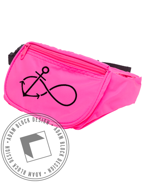 Delta Gamma Infinity Anchor Fanny Pack-gallery-Adam Block Design