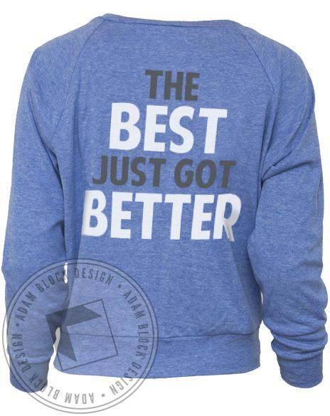 Delta Gamma Just Got Better Raglan-Adam Block Design
