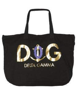 Delta Gamma Lei Tote Bag-Adam Block Design