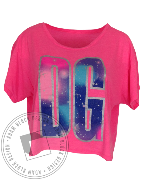 Delta Gamma Out Of This World Tee-Adam Block Design