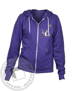 Delta Gamma Pocket Anchor Hoody-Adam Block Design
