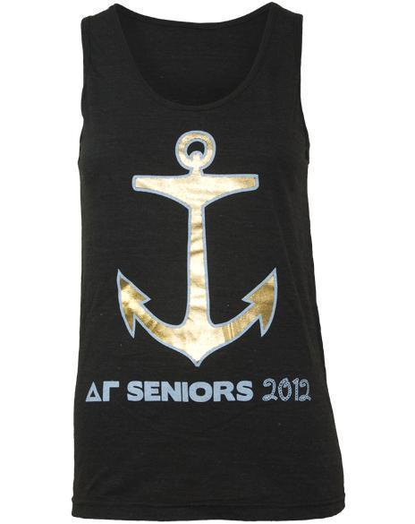 Delta Gamma Senior Anchor Tank-Adam Block Design