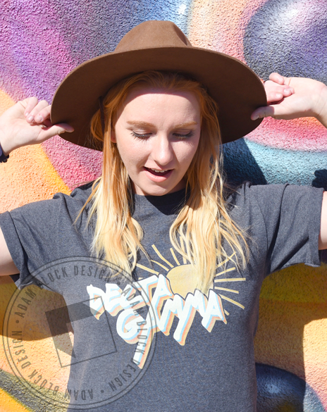 Delta Gamma Sunshine T-shirt-gallery-Adam Block Design
