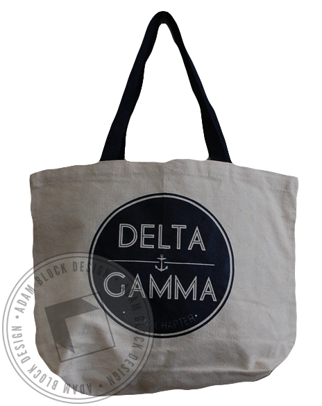 Delta Gamma Tote-gallery-Adam Block Design