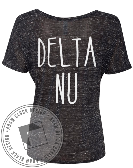 Delta Nu Grossed Out Tee-gallery-Adam Block Design