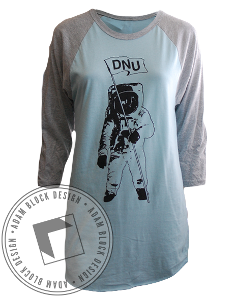 Delta Nu Out Of This World Long Sleeve-Adam Block Design