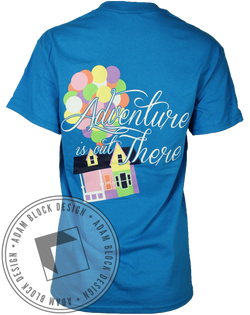 Delta Phi Epsilon Adventure Tee-Adam Block Design