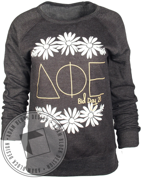 Delta Phi Epsilon Bid Day Long Sleeve-Adam Block Design