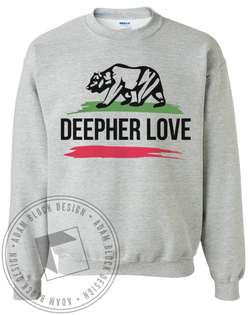 Delta Phi Epsilon California Sweatshirt-Adam Block Design