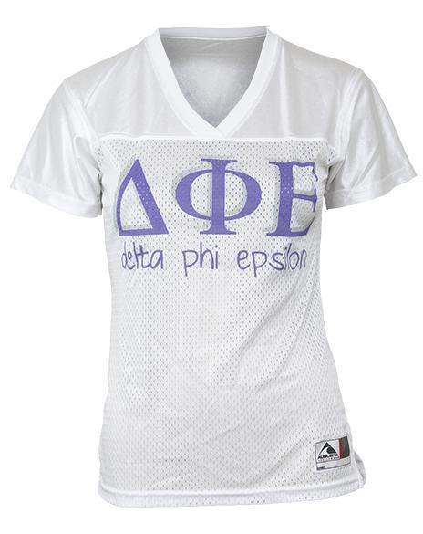 Delta Phi Epsilon Dimes Football Jersey-gallery-Adam Block Design