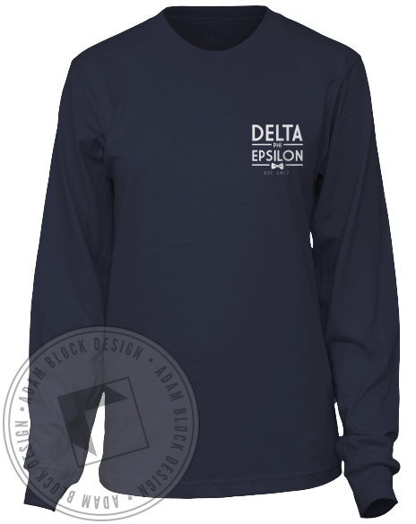 Delta Phi Epsilon Formal Longsleeve-Adam Block Design