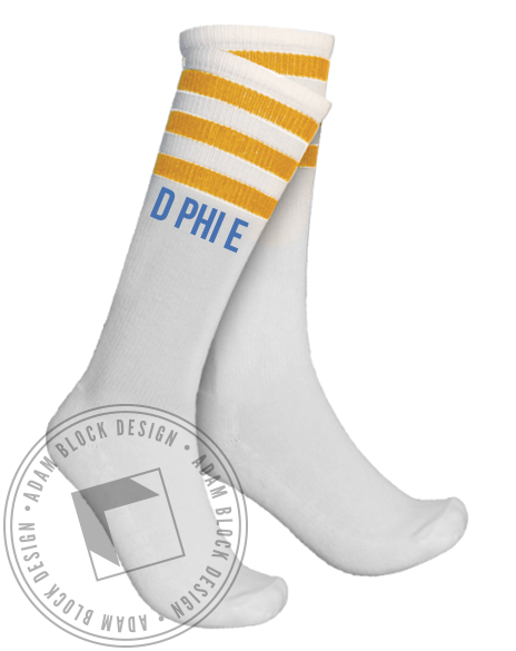 Delta Phi Epsilon Socks-gallery-Adam Block Design