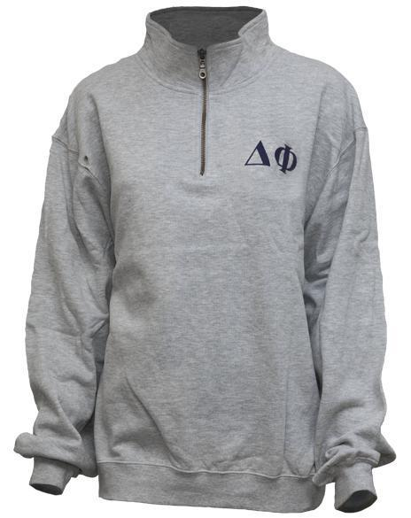 Delta Phi Half Zip-gallery-Adam Block Design