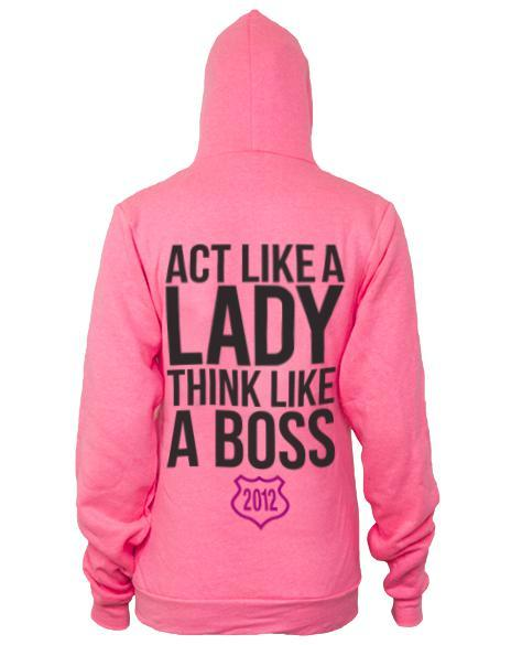 Delta Pi Act Like A Lady Hoodie-Adam Block Design