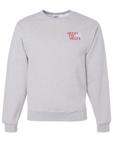 Delta Tau Delta Delt the Halls Sweatshirt-Adam Block Design