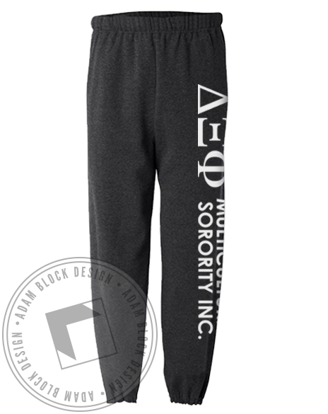 Delta Xi Phi Sweatpants-Adam Block Design