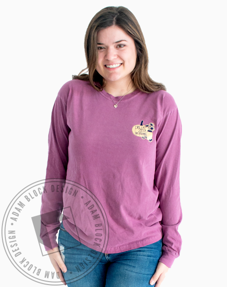 Delta Zeta Fall Festival Long Sleeve-Adam Block Design