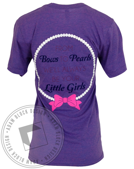 Delta Zeta Family Day Tee-Adam Block Design