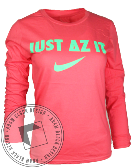 Delta Zeta Greek Week Long Sleeve-gallery-Adam Block Design