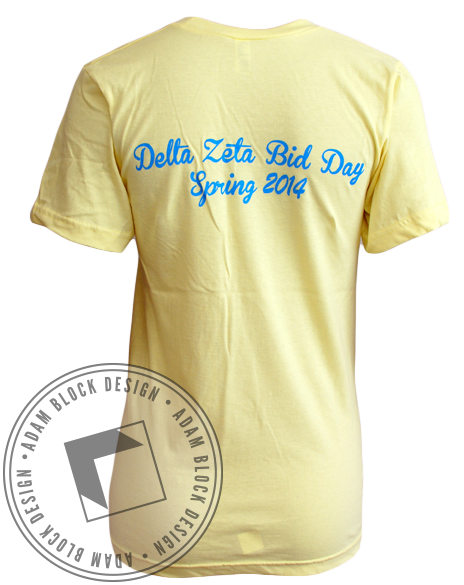 Delta Zeta Let It Be Vneck-Adam Block Design