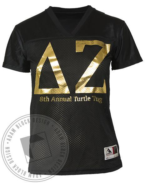 Delta Zeta Pullin' Through Jersey-Adam Block Design