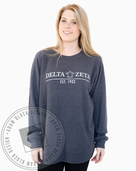 Delta Zeta Turtle Poodle Crewneck-gallery-Adam Block Design