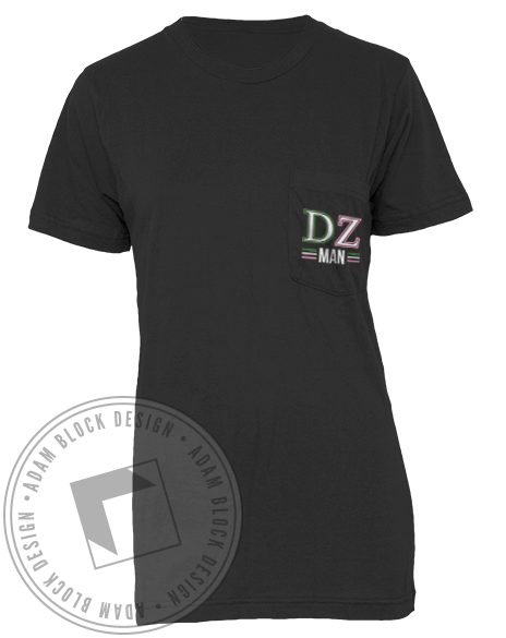 Delta Zeta Woman of My Dreams Guys Tshirt-gallery-Adam Block Design