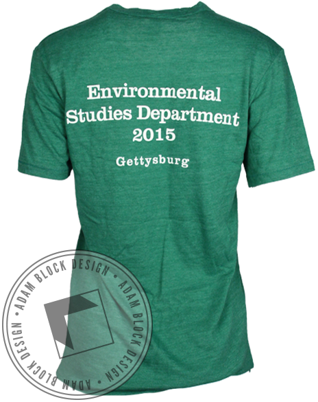 Environmental Studies Tee-Adam Block Design