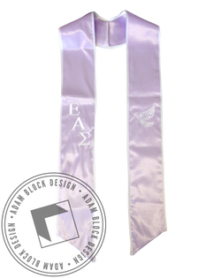Epsilon Alpha Sigma Graduation Stole-Adam Block Design