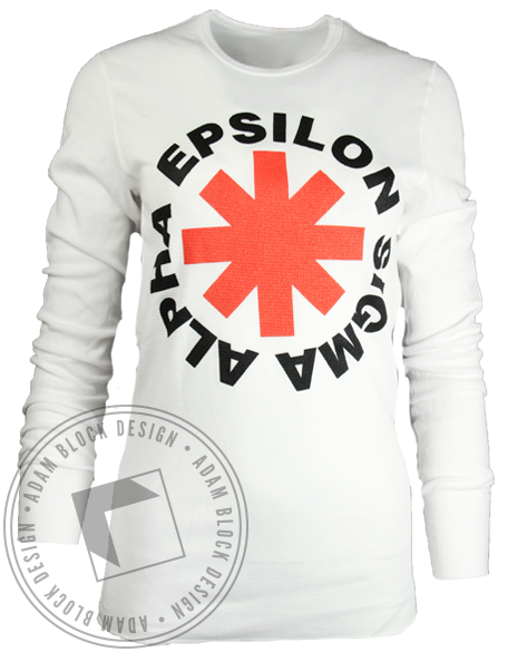Epsilon Sigma Alpha Asterisk Long Sleeve-Adam Block Design