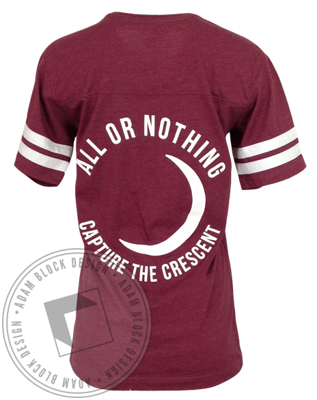 Gamma Phi Beta All Or Nothing Tee-Adam Block Design