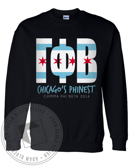 Gamma Phi Beta Chicago's Phinest Sweater-gallery-Adam Block Design