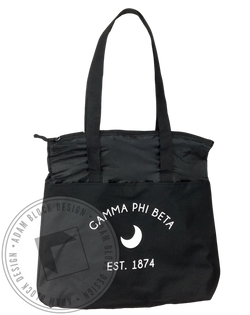 Gamma Phi Beta Crescent Tote-Adam Block Design