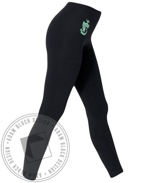 Gamma Phi Beta Crest Leggings-Adam Block Design