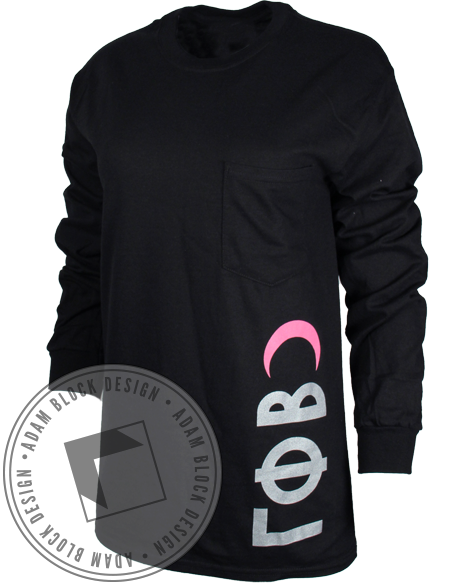 Gamma Phi Beta Crest Long Sleeve-Adam Block Design