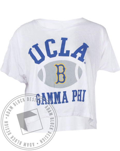 Gamma Phi Beta Dad's Day Tee-Adam Block Design