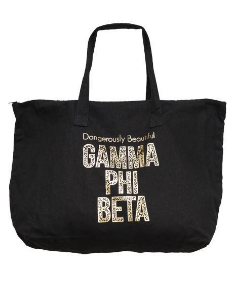 Gamma Phi Beta Dangerously Beautiful Tote-gallery-Adam Block Design