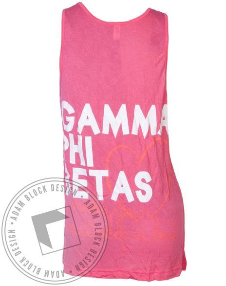 Gamma Phi Beta Heart Tank-gallery-Adam Block Design