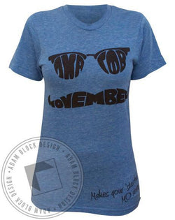 Gamma Phi Beta Moustache Tee-gallery-Adam Block Design