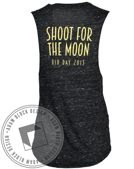 Gamma Phi Beta Shoot For The Moon Bid Day Tank-Adam Block Design