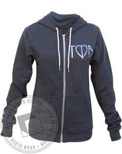 Gamma Phi Beta Silver Hoody-gallery-Adam Block Design