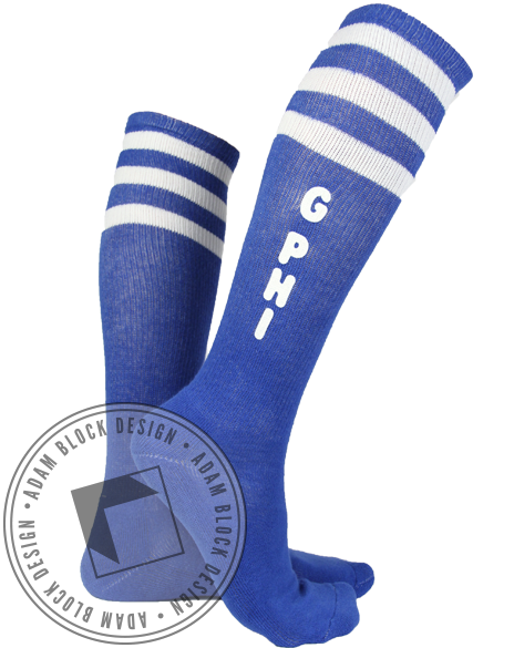 Gamma Phi Beta Socks-gallery-Adam Block Design