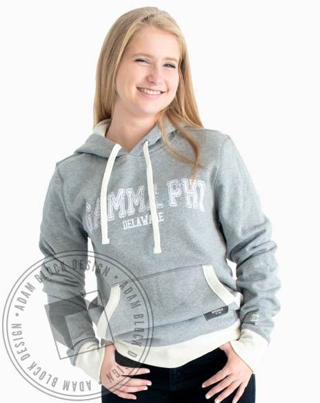 Gamma Phi Beta State Pullover-Adam Block Design