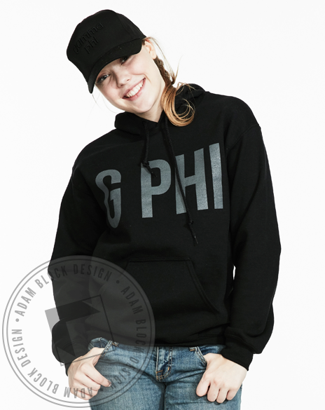 Gamma Phi Beta Tonal Sweatshirt-Adam Block Design