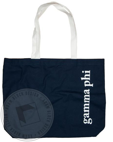 Gamma Phi Beta Tote-Adam Block Design