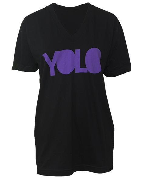 Gamma Phi Beta Yolo V-Neck-Adam Block Design