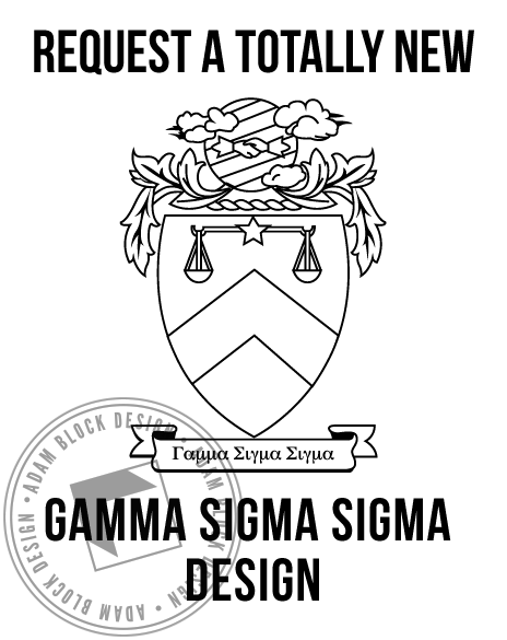 Gamma Sigma Sigma - New Design-Adam Block Design