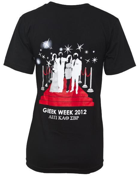 Greek Week Paparazzi V-neck-Adam Block Design