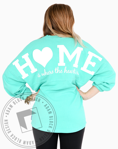 Home Is Where The Heart Is Spirit Jersey-gallery-Adam Block Design